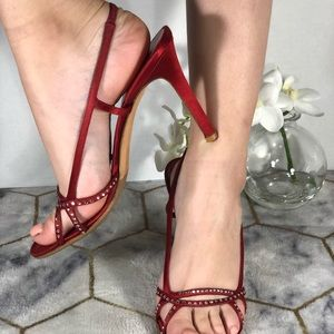 Valentino satin high heels